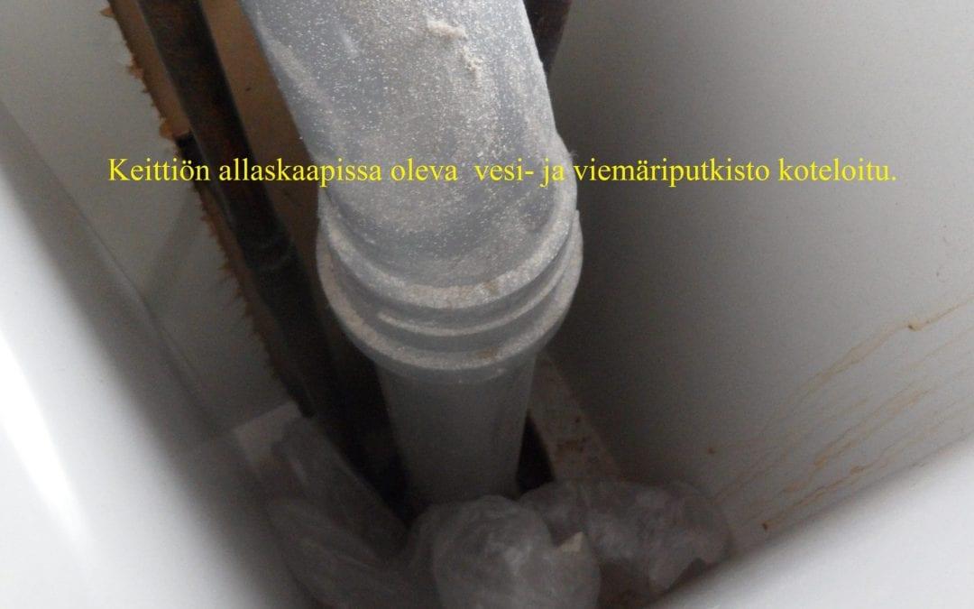 Vesi, astiapesukonevuoto