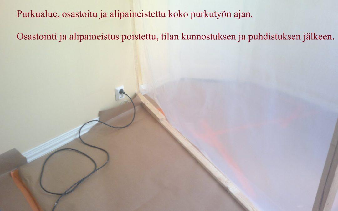 Vesi, mikrobivaurio ikkunarakenteissa