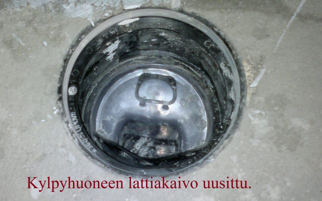 Vesi, kylpyhuoneen vedeneristeet