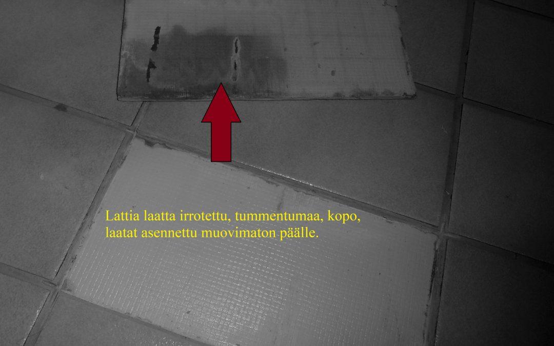 Vesi, kylpyhuoneiden kosteusvauriot, kosteusmittaus